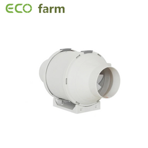 "ECO Farm 4""/6""/8"" Extractor Ventilador Tipo Color Blanco"
