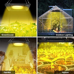 ECO Farm 50W COB LED Luz de Cultivo Impermeable Suplemental