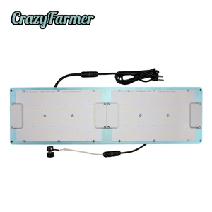 Crazy Farmer Dimmable Meanwell Driver Samsung 301h Mars LED Grow Light Quantum Hydro 288 para la agricultura de interior