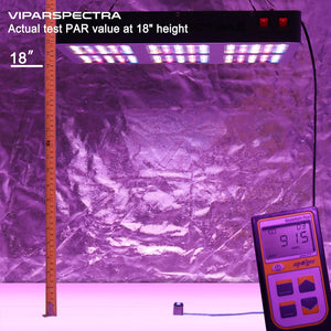 VIPARSPECTRA Reflector-Series 900W (R900) LED crece la luz