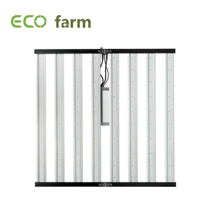ECO Farm LED 640W (120 Grados) Regulable 3500K Con Samsung 301B/301H Chips y Meanwell Driver Panel Luz de Cultivo  Plegable (Slim 600H) UV+IR Envío Gratis