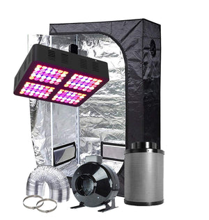 TopoGrow 36X20X63 LED Grow Tent Kits