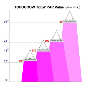TopoGrow 60X32X80 LED Grow Tent Kits