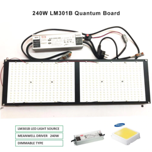 ECO Farm LED Quantum Board con Samsung LM561C/301B Chip 120W/240W