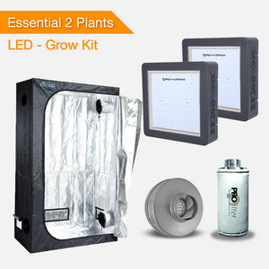 Kits De Cultivo Essential 2 Plantas - Luces De Cultivo LED