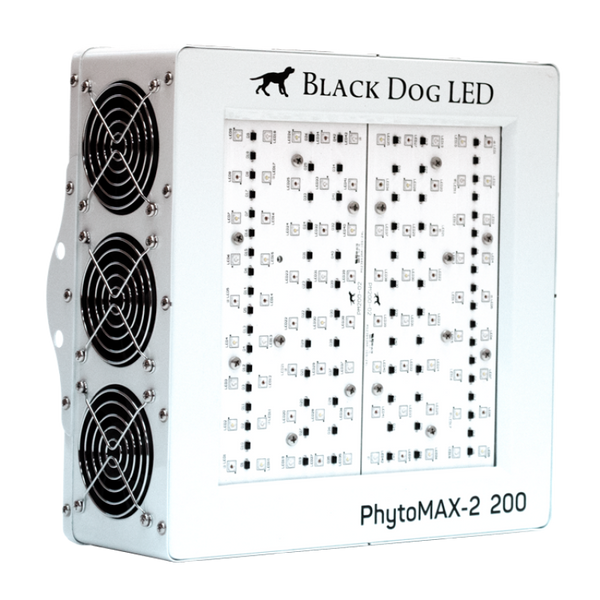 200 Led Luces De Cultivo De Black Dog Led Phytomax-2