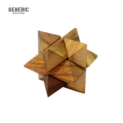 Shooting Star Wood Puzzle