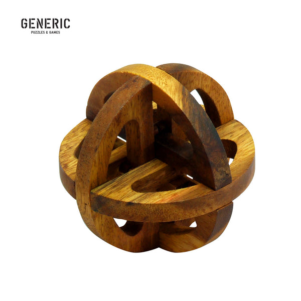 Global Wooden Puzzle