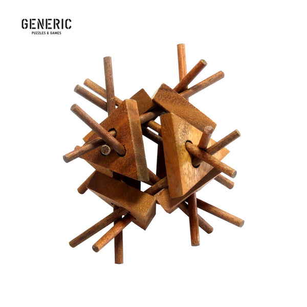 Stick Structure Interlocking Puzzle