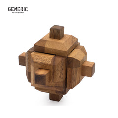 Spinning Top Interlocking Puzzle