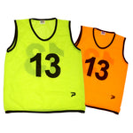 Patrick Numbered Mesh Bibs, Set of 10