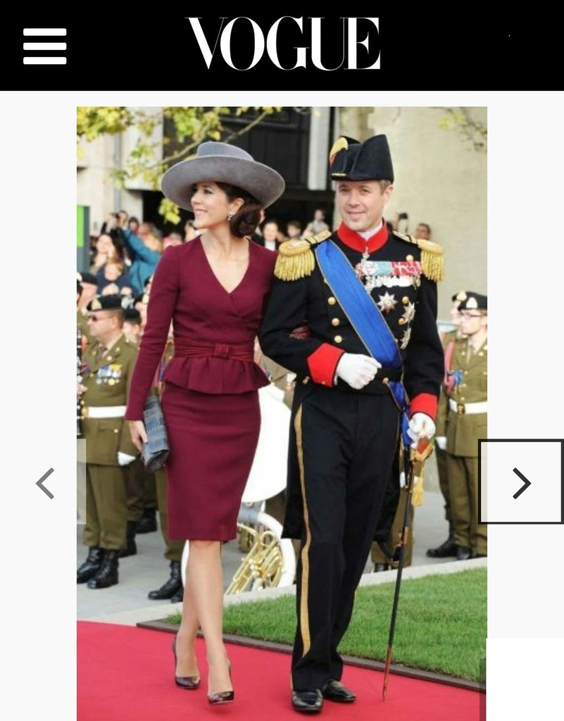 Crown Princess Mary Naledi Copenhagen VOGUE Australia July 2016