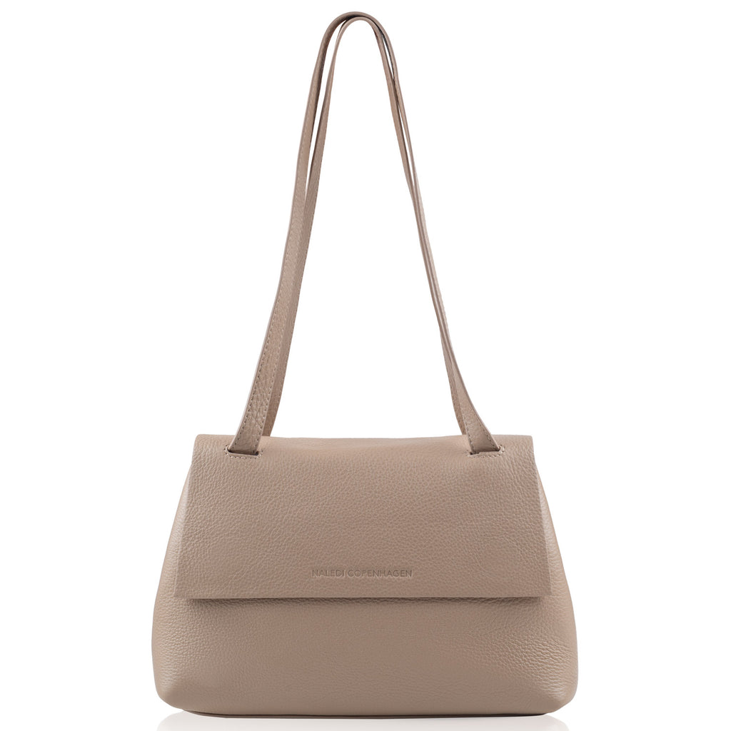 Alex Medium beige leather bag NEW ARRIVAL