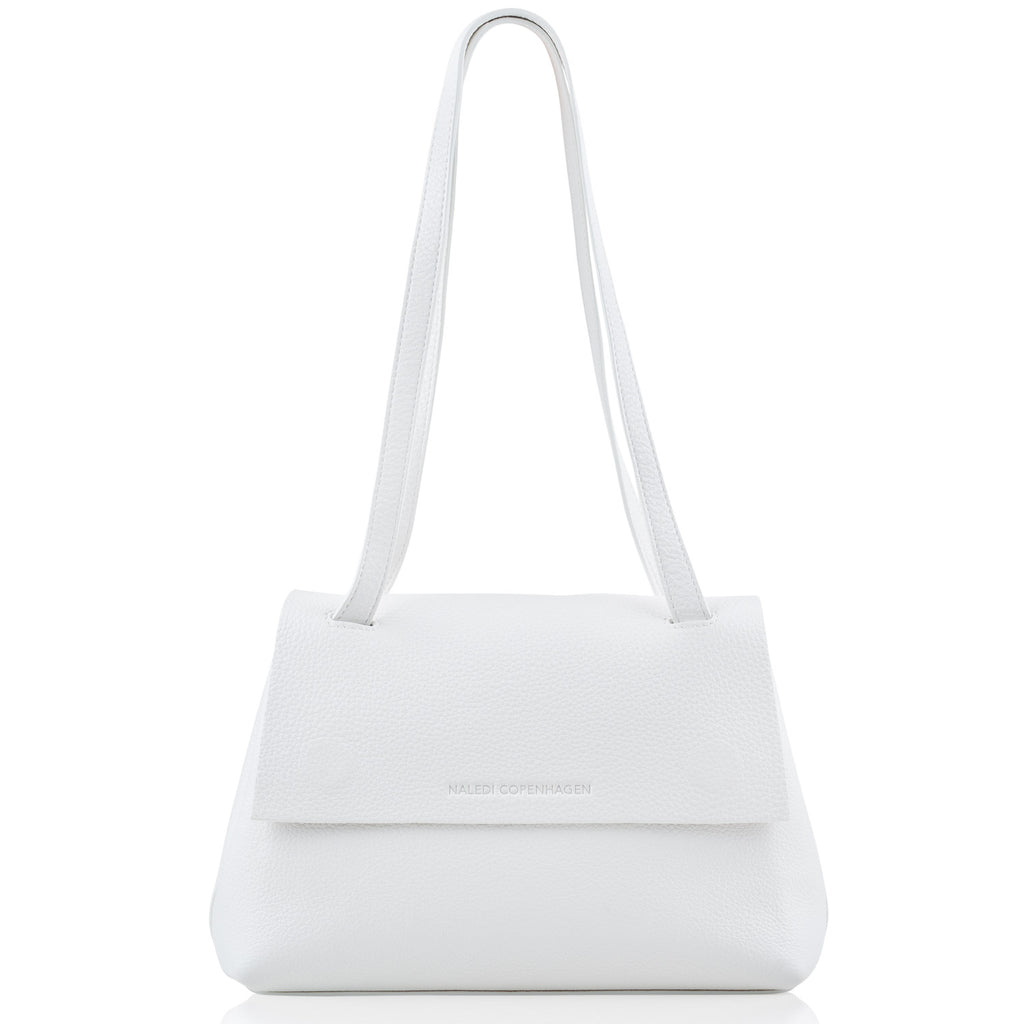 Alex Medium white leather bag NEW ARRIVAL