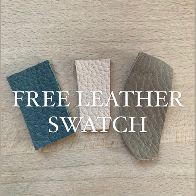 Free leather swatch