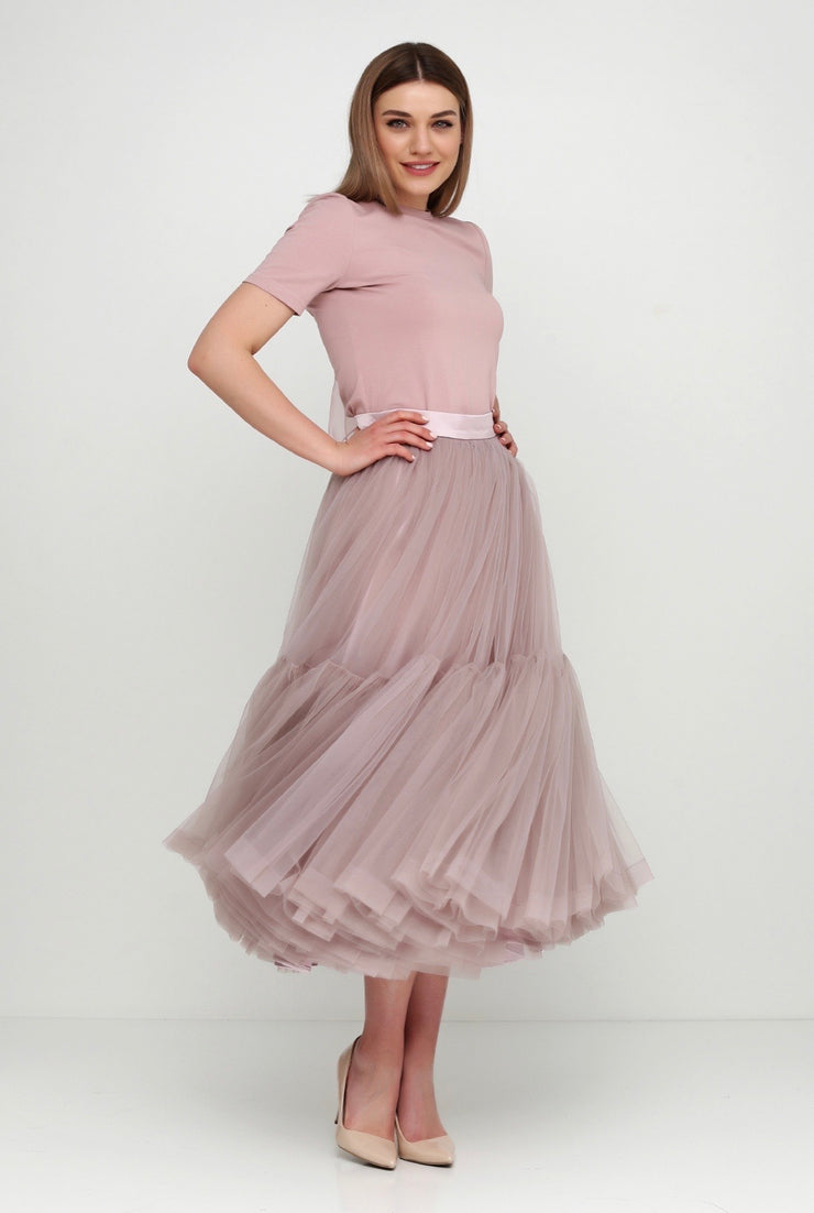 Magia tuille midi skirt MADE TO ORDER