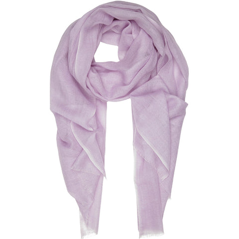 Rene 60 Pale Lilac silk blend scarf NEW ARRIVAL