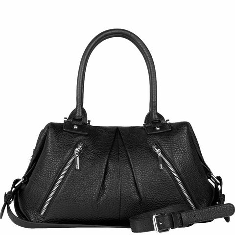 Victoria medium black tote