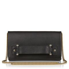 Sascha leather clutch