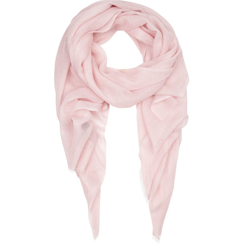 Rene 40 Delicate Pink silk blend scarf