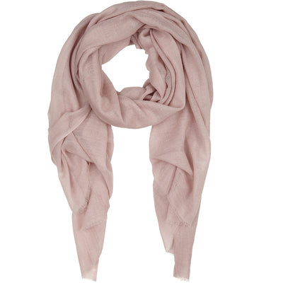 Rene 03 Dressy Rose silk blend scarf BACK IN STOCK