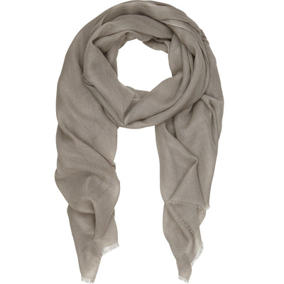 Rene 07 Sand silk blend scarf BACK IN STOCK