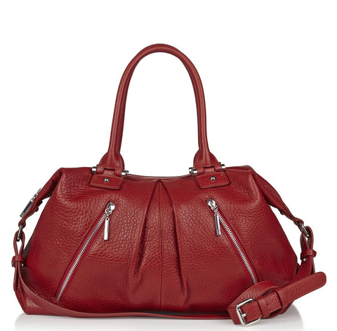 Victoria large red tote