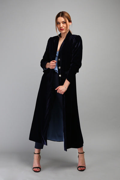 Nora velvet coat New Arrival