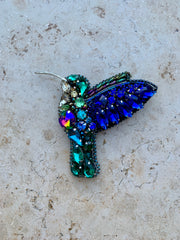 Hummingbird Brooche