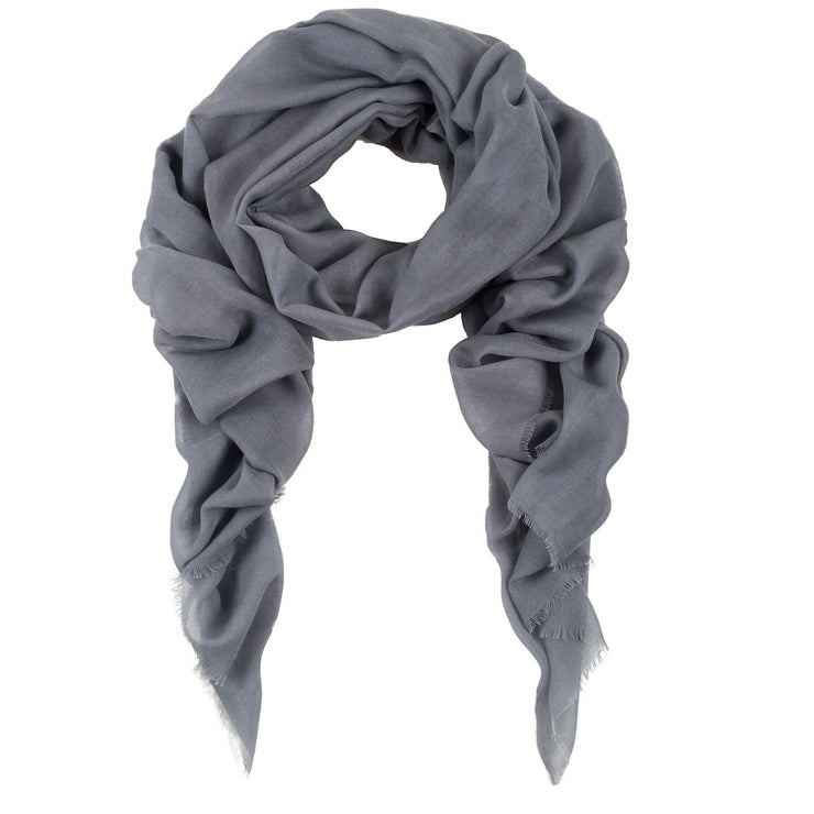 Rene 08 Light Grey silk blend scarf NEW ARRIVALS