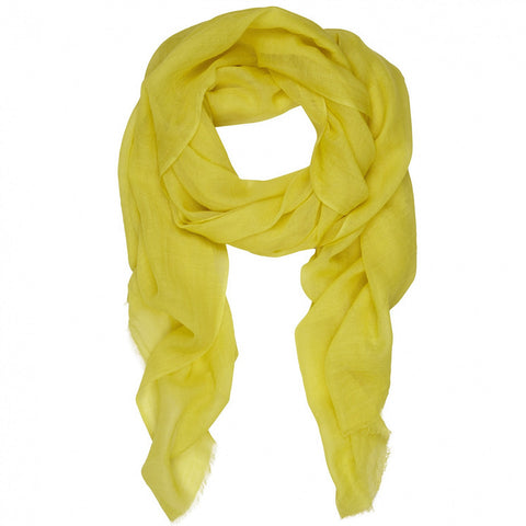 Rene 70 Limonchello silk blend scarf NEW ARRIVAL
