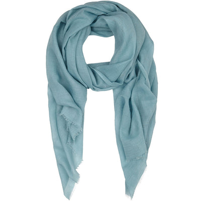 Rene 11 Pale Blue silk blend scarf NEW ARRIVAL