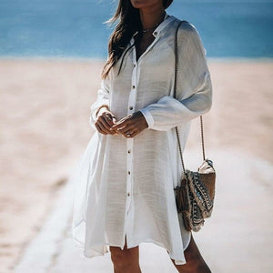Women's Boyfriend Beach Cover Up