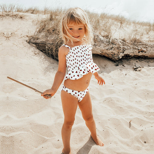 Girls Cherry Bikini Set (3-12 Years)