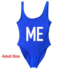 Load image into Gallery viewer, Mommy Daughter Duo Mini Me Swimsuit (multiple colors available)