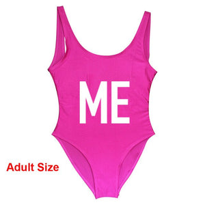 Mommy Daughter Duo Mini Me Swimsuit (multiple colors available)