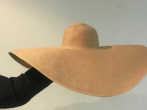 Women's Big Brim Straw Beach Hat