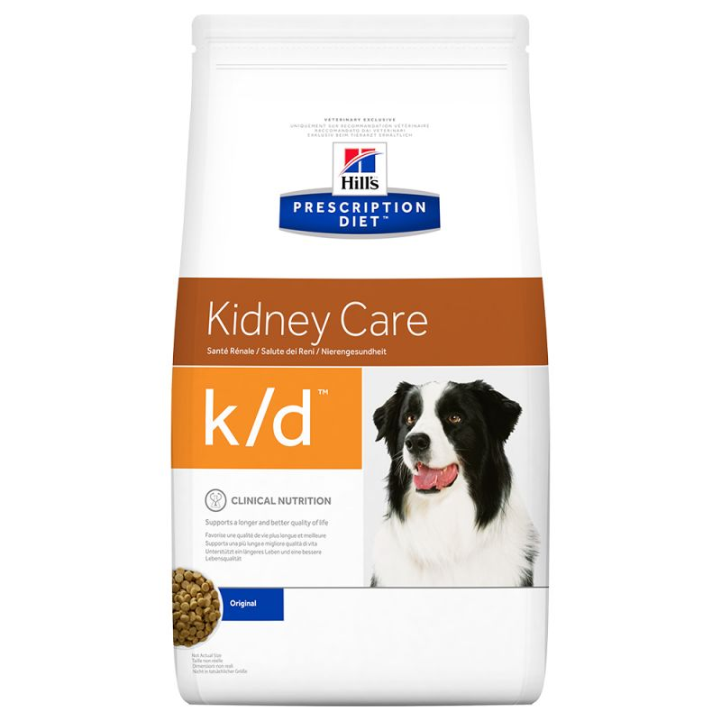 Hill's k/d Prescription Diet Kidney Care pienso para perros 12 KG
