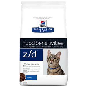 Hill's z/d Prescription Diet Food Sensitivities pienso para gatos 8 KG