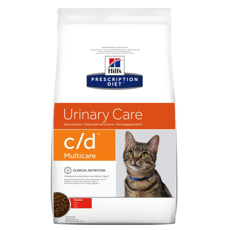Hill's c/d con pollo Prescription Diet Urinary Care pienso para gatos 5 KG