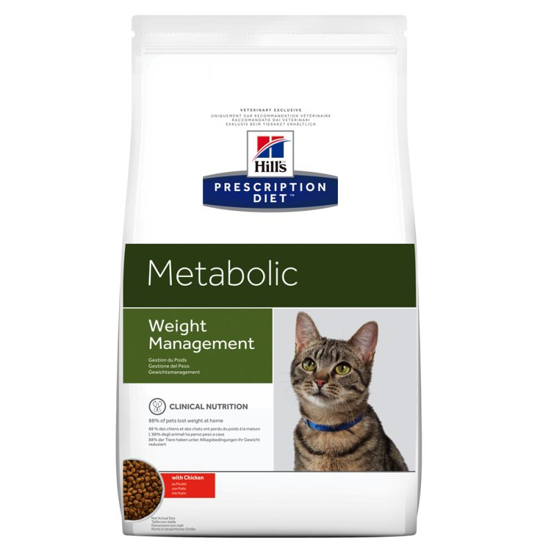 Hill's Metabolic Prescription Diet pienso para gatos 8 KG