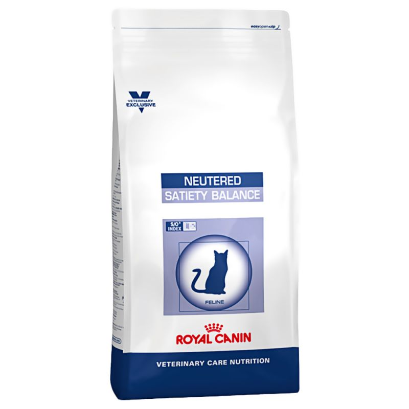 Royal Canin Neutered Satiety Balance - Vet Care Nutrition Gato 8 KG
