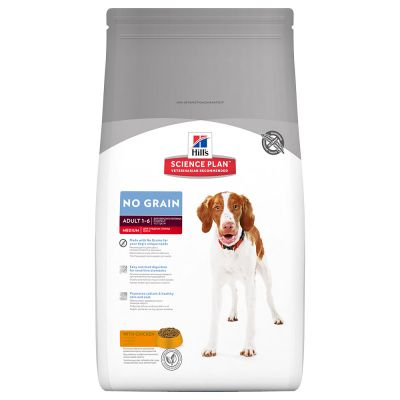 Hill's Adult Medium No Grain con pollo Perro 12 KG
