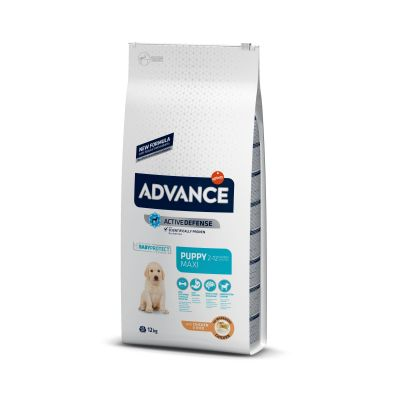 Advance Puppy Maxi pollo y arroz Perro 12 KG
