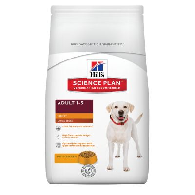Hill's Adult Light Large con pollo Perro 12 KG