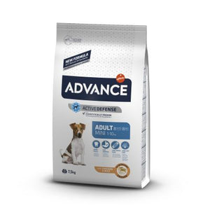 Advance Mini Adult pollo y arroz Perro 7'5 KG