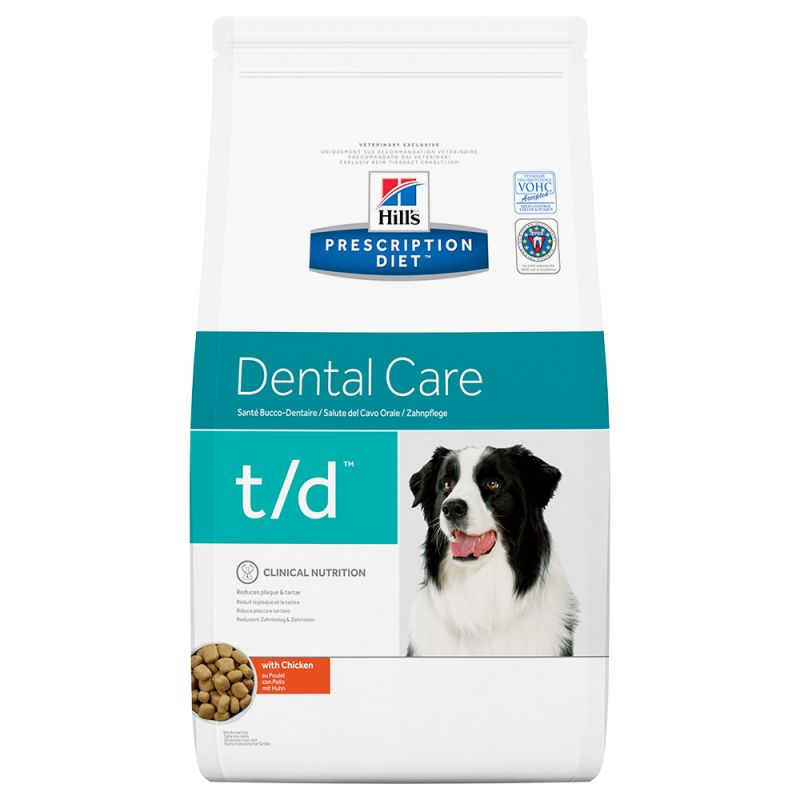 Hill´s t/d Prescription Diet Dental Care pienso para perros 10 KG