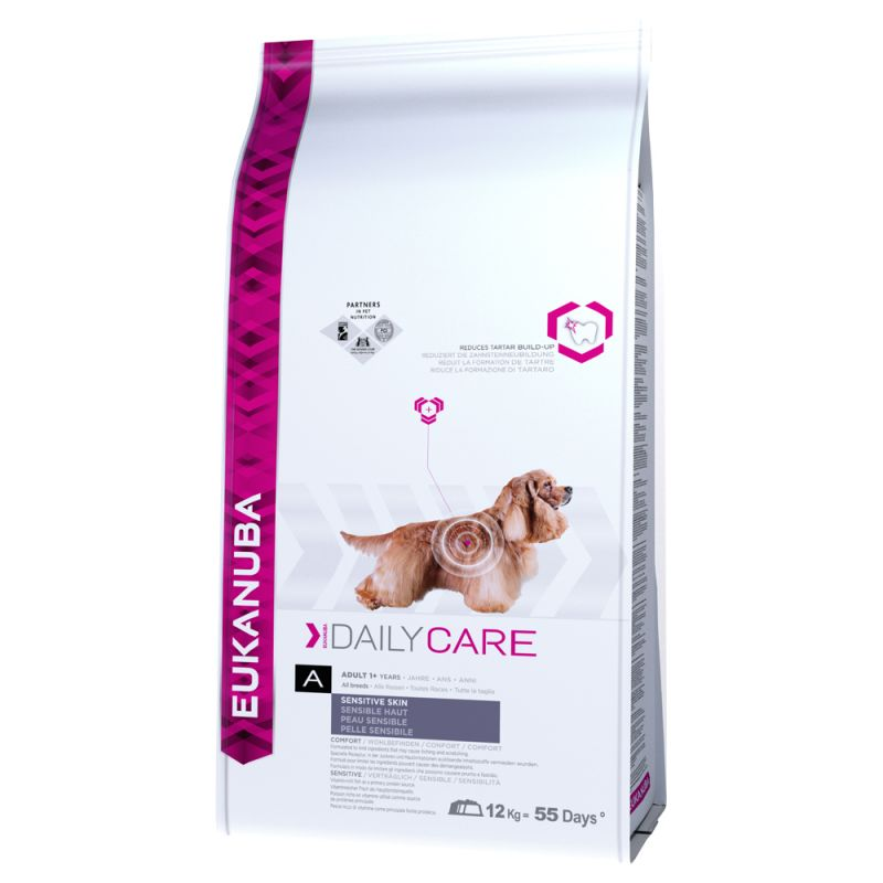 Eukanuba Daily Care Sensitive Skin Perro 2'3 KG