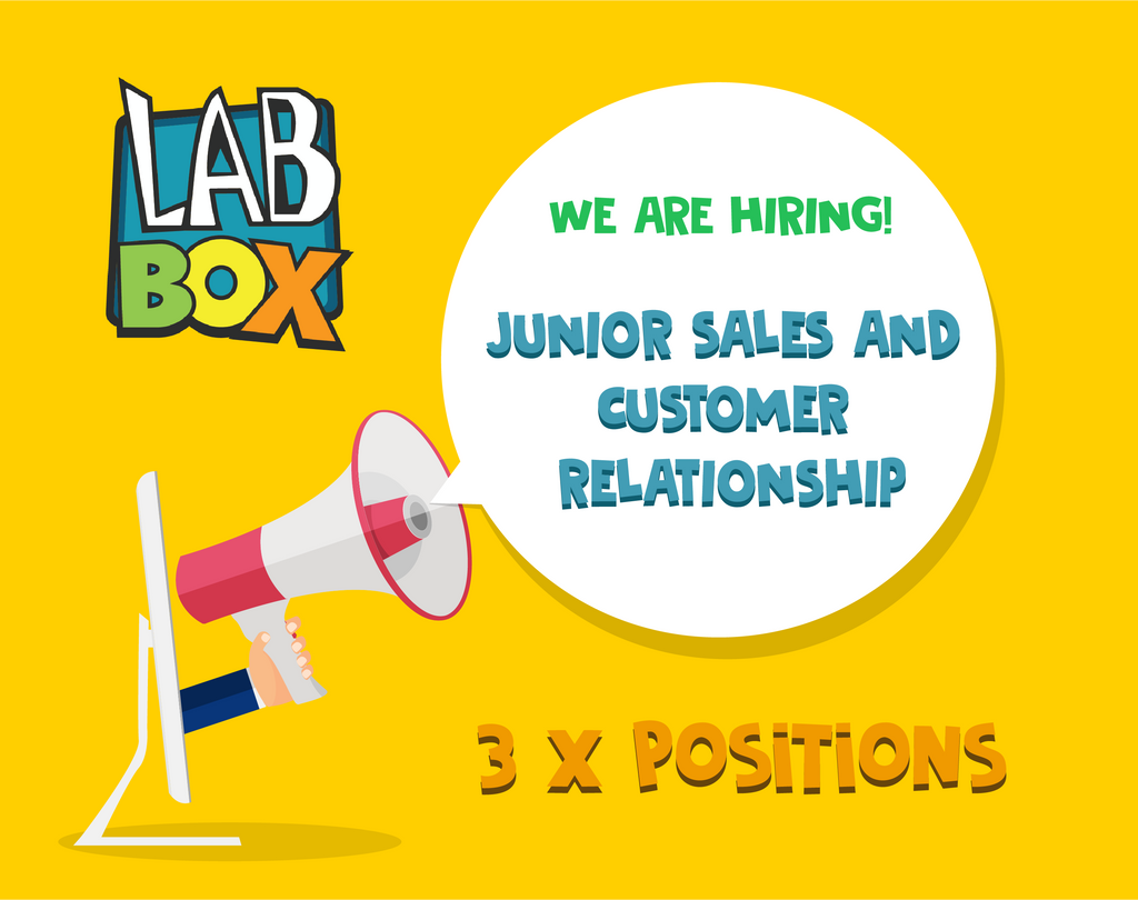 Job Announcement: Junior Sales and Customer Relationship (3 positions)
