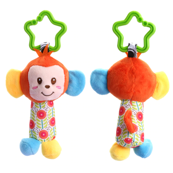 Soft Stroller Animal Toy